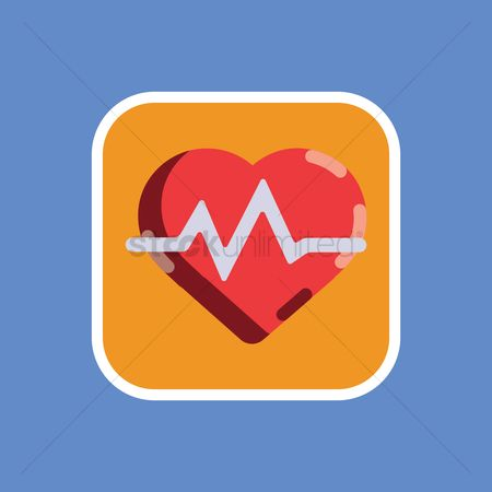 Cardiogram : Heart and pulse
