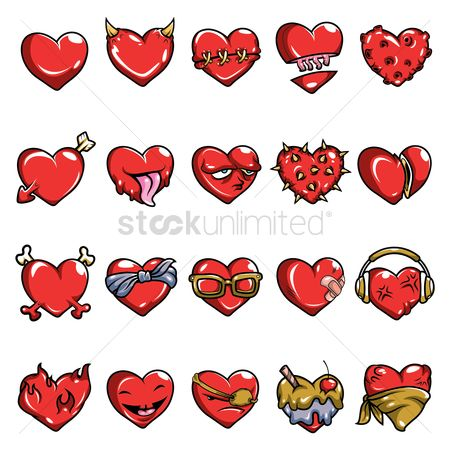 Romance : Heart collection