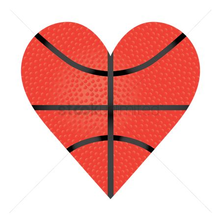 Heart shape : Heart shape basketball
