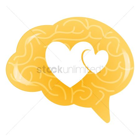Love speech bubble : Heart shape in speech bubble