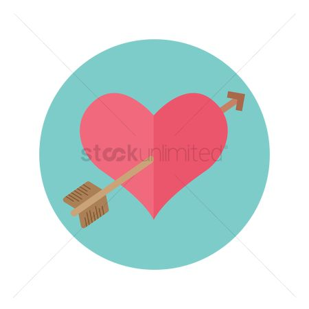 Heart : Heart with arrow