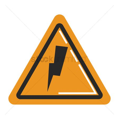 Beware : High voltage sign