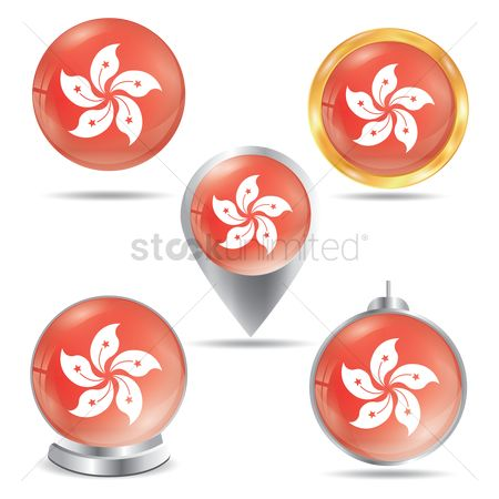 Navigators : Hong kong flag icons