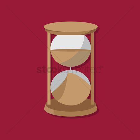 Sand clock : Hourglass  sand glass  sand timer  sand clock