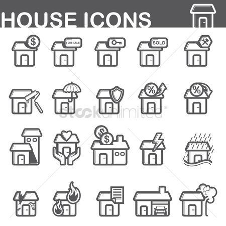 Brushes : House icons