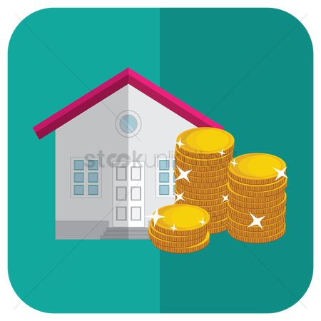 Cottage : House with coins