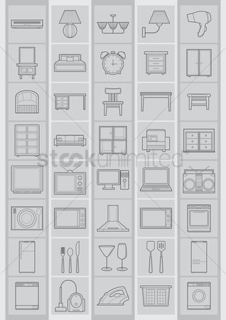 Plates : Household electrical items