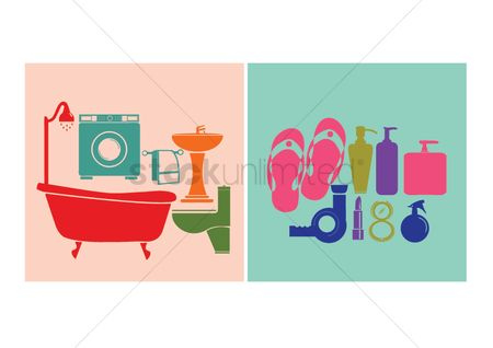 Sandal : Household objects and toiletries