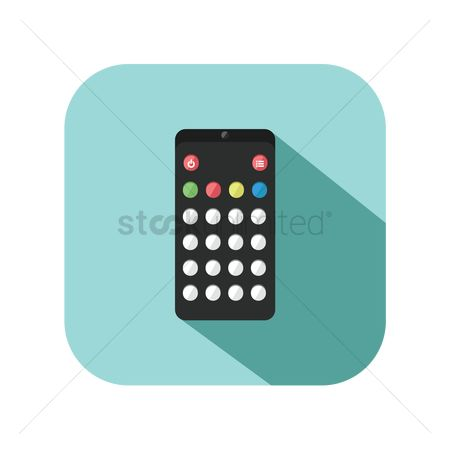 Appliances : Icon of a remote control