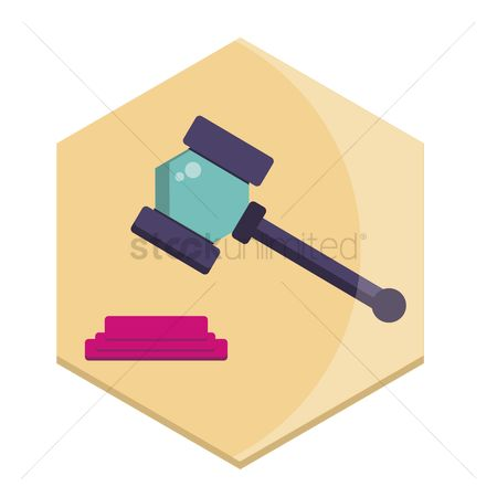 Authority : Illustration of a gavel