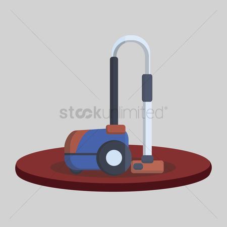 Chores : Illustration of a vacuum cleaner
