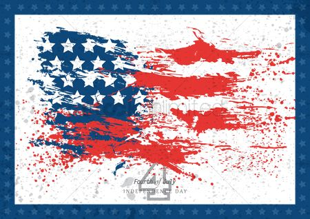 Flag : Independence day poster