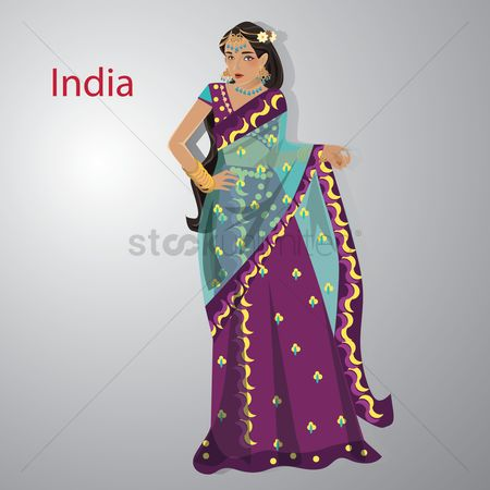 Countries : Indian woman