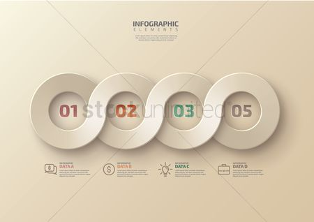 A : Infographic design elements