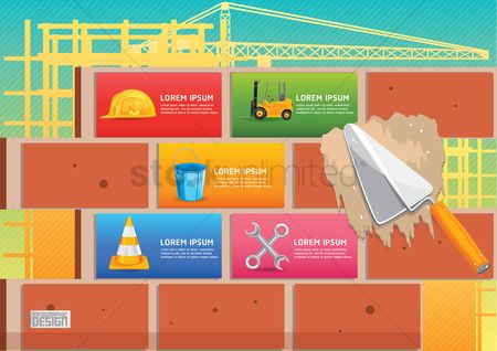 Tools : Infographic of construction