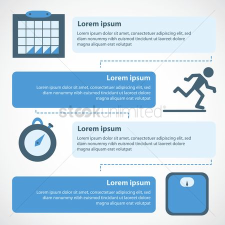 Weight : Infographic on exercise activity