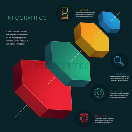 Notification : Infographic template design