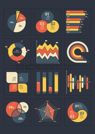 Reports : Infographic template design