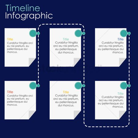 Commercials : Infographic template