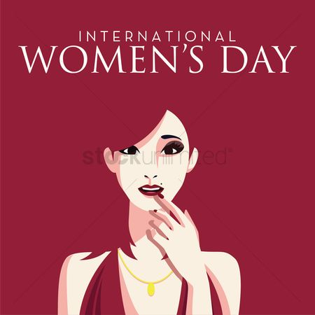 Cosmetic : International women s day design