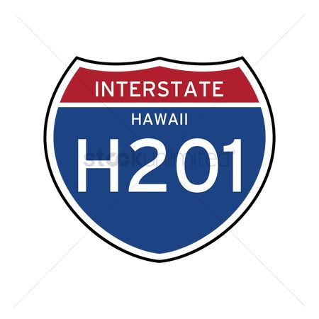 Interstates : Interstate hawaii route sign