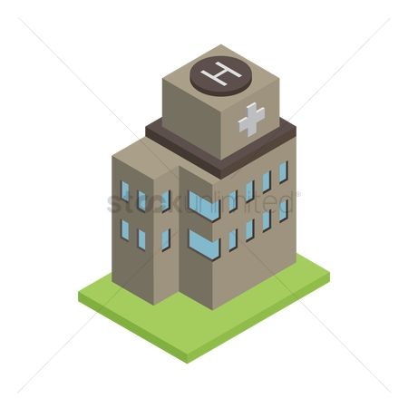 Plus : Isometric building