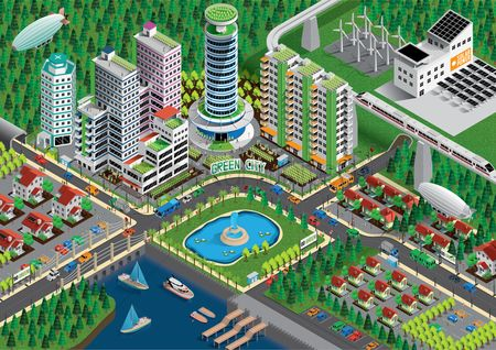 Architectures : Isometric city
