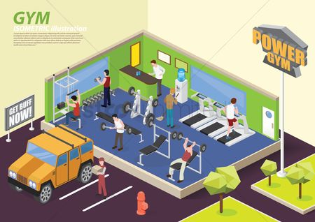 Workers : Isometric gym