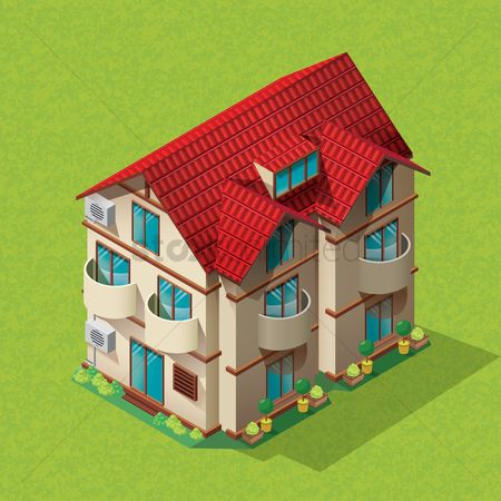 Buildings : Isometric home