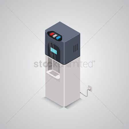 Appliances : Isometric water dispenser