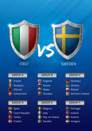 Ukraine : Italy vs sweden