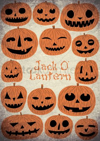 Jack o lantern : Jack-o-lantern background