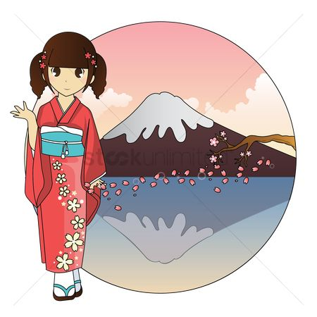 Traditions : Japanese girl