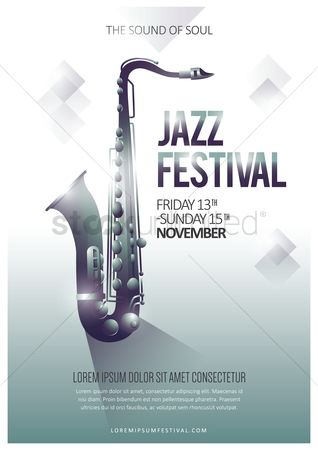 Month : Jazz festival poster