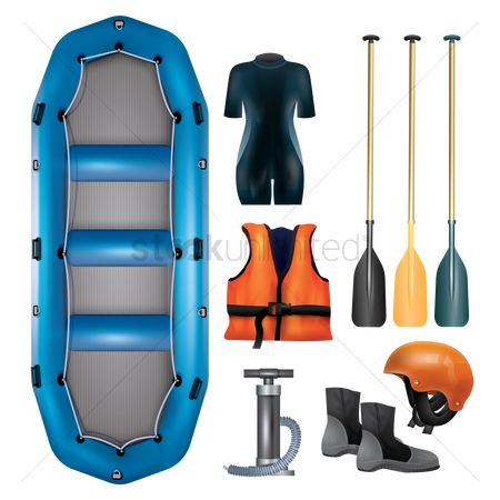 Sports : Kayaking gear