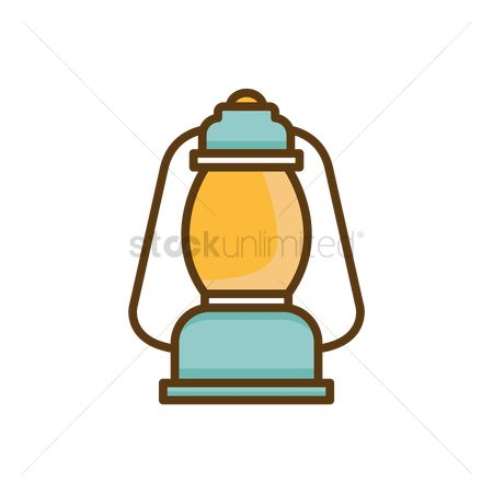 Lighting : Kerosene lamp