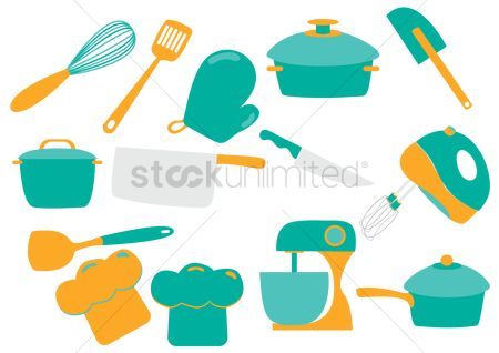 Dishes : Kitchen appliances and utensils