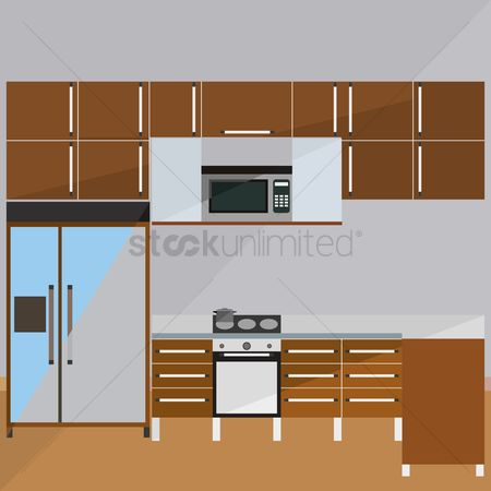 Indoor : Kitchen room