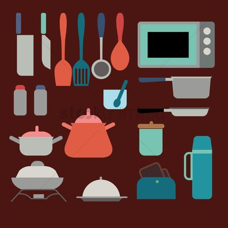 Servings : Kitchen utensils