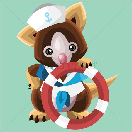 Sailors : Koala as a sailor