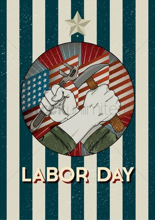 Wrenches : Labor day poster