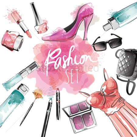 Brushes : Ladies fashion set