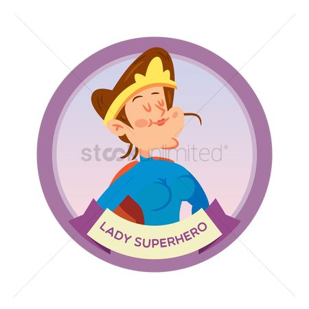 Brave : Lady superhero