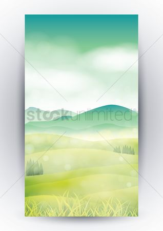 Grass background : Landscape design