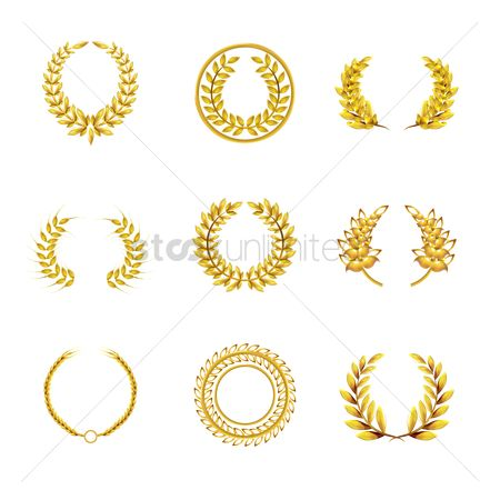 Laurel : Laurel wreath set