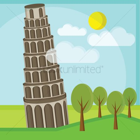 Pisa : Leaning tower