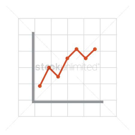 Increase : Line graph on graph paper