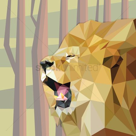 Polygon : Lion