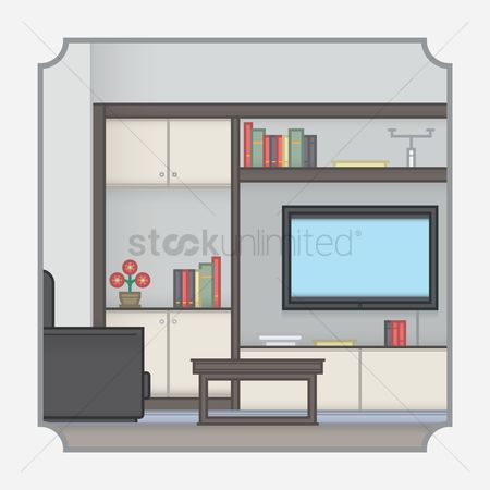 Tv : Living room