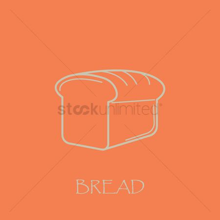 Flour : Loaf of bread